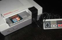 Nintendo NES Super Mario Bros spilkonsol og computerspil